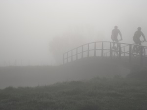 fietsbruggetje Sluispolderpad
